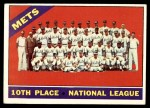 1966 Topps #172   Mets Team Front Thumbnail