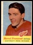 1957 Topps #43  Marcel Pronovost  Front Thumbnail