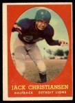 1958 Topps #70  Jack Christiansen  Front Thumbnail