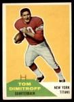 1960 Fleer #16  Tom Dimitroff  Front Thumbnail