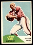 1960 Fleer #38  Jacky Lee  Front Thumbnail