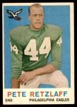 1959 Topps #88  Pete Retzlaff  Front Thumbnail