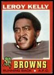 1971 Topps #157  Leroy Kelly  Front Thumbnail