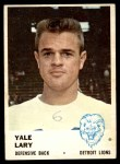 1961 Fleer #85  Yale Lary  Front Thumbnail