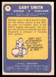 1969 Topps #78  Gary Smith  Back Thumbnail