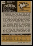 1971 Topps #177  Preston Pearson  Back Thumbnail