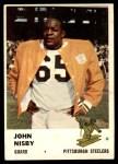 1961 Fleer #121  John Nisby  Front Thumbnail