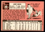 1969 Topps #55  Jerry Grote  Back Thumbnail