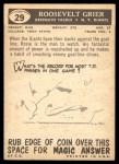 1959 Topps #29  Roosevelt Grier  Back Thumbnail