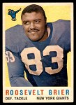 1959 Topps #29  Roosevelt Grier  Front Thumbnail
