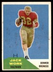 1960 Fleer #88  Jack Work  Front Thumbnail