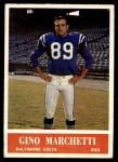 1964 Philadelphia #4  Gino Marchetti  Front Thumbnail