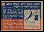1957 Topps #31  Hec Lalande  Back Thumbnail