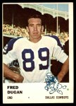 1961 Fleer #44  Fred Dugan  Front Thumbnail