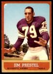 1963 Topps #108  Jim Prestel  Front Thumbnail