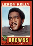 1971 Topps #157  Leroy Kelly  Front Thumbnail