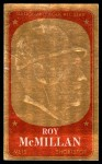 1965 Topps Embossed #44   Roy McMillan   Front Thumbnail