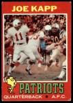 1971 Topps #145  Joe Kapp  Front Thumbnail