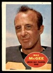 1960 Topps #55  Max McGee  Front Thumbnail