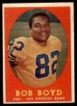 1958 Topps #21  Bob Boyd  Front Thumbnail