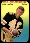 1970 Topps Glossy #14  Dan Abramowicz  Front Thumbnail