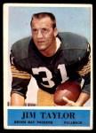 1964 Philadelphia #80  Jim Taylor   Front Thumbnail