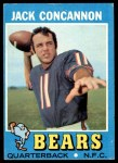 1971 Topps #262  Jack Concannon  Front Thumbnail