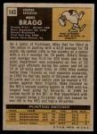1971 Topps #143  Mike Bragg  Back Thumbnail