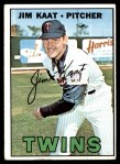 1967 Topps #300  Jim Kaat  Front Thumbnail