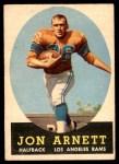 1958 Topps #20  Jon Arnett  Front Thumbnail