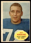 1960 Topps #40  Ray Krouse  Front Thumbnail