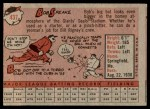 1958 Topps #437  Bob Speake  Back Thumbnail