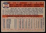 1957 Topps #23  Sherm Lollar  Back Thumbnail