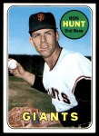 1969 Topps #664  Ron Hunt  Front Thumbnail