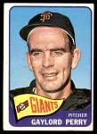 1965 Topps #193  Gaylord Perry  Front Thumbnail