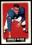 1964 Topps #58  Harold Olson  Front Thumbnail