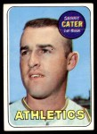 1969 Topps #44  Danny Cater  Front Thumbnail