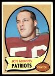 1970 Topps #214  Jon Morris  Front Thumbnail