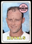 1969 Topps #298  Dave Nicholson  Front Thumbnail