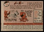 1958 Topps #332  Jim King  Back Thumbnail