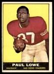 1961 Topps #167  Paul Lowe  Front Thumbnail