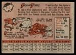 1958 Topps #117  Frank Torre  Back Thumbnail