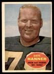 1960 Topps #59  Dave Hanner  Front Thumbnail