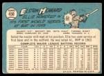 1965 Topps #450  Elston Howard  Back Thumbnail