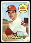 1969 Topps #320  Dal Maxvill  Front Thumbnail