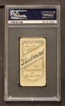 1909 T206  John Titus  Back Thumbnail