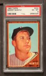 1962 Topps #200  Mickey Mantle  Front Thumbnail