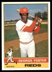 1976 Topps #179  George Foster  Front Thumbnail