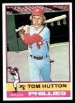 1976 Topps #91  Tom Hutton  Front Thumbnail
