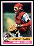 1976 Topps #62  Johnny Oates  Front Thumbnail